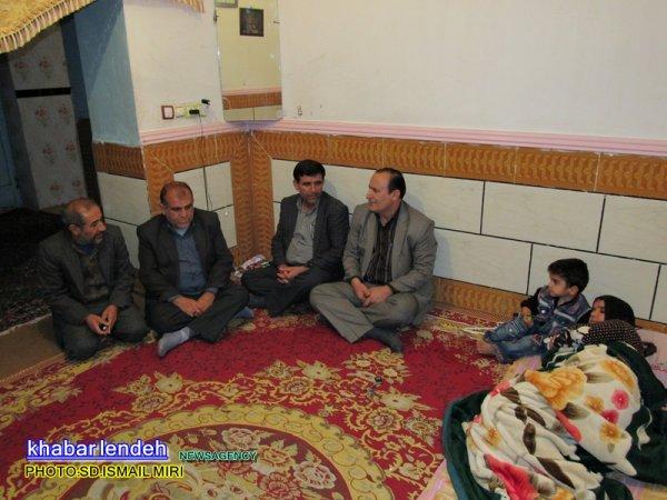 هفته وحدت ,خبرلنده ,عطرمحمدی, دیدار با خانواده های ایتام, کمیته امداد ,زنان بی سرپرست, لنده