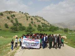 همایش پیاده روی خانوادگی, خبرلنده ,روستای شیتاب ,بخش موگرمون, پایگاه مقاومت شهید آسودی