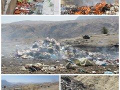 دفن غیربهداشتی زباله ها,خبرلنده,جایگاه دفن زباله,شهرداری لنده,شهرستان لنده,مشکلات زیست محیطی,اخبار لنده