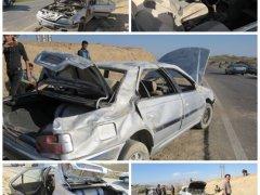 تصادف,مصدومیت دو نفر,حادثه رانندگی,اخبار لنده,نقاط حادثه خیز,اورژاس115,بیمارستان امام خمینی(ره)