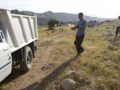 اقدام قابل تحسین,جمع آوری زباله,دهیاری,روستای آبرزگه,محیط زیست,بخش موگرمون,شهرستان لنده