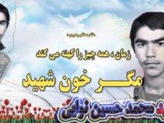 بسیجی شهید محمد حسین نوایی
