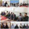 دیدار و سرکشی از خانواده های شهدا ,خبرلنده ,شهیدولی احمدی کتج, جنگنده ,حمله هوایی, رژیم بعث عراق, رئیس بنیادشهید ,لنده