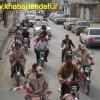 رژه موتوری وخودرویی در سالروز ورود امام راحل به ایران +تصاویر