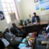 تجلیل از خانواده شهدا و ایثارگران و سرکشی از نیازمندان باشتی توسط کمیته امداد