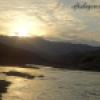 غروب رودخانه زهره گچساران به روایت تصویر