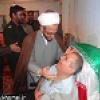 عیادت مسئولان از جانباز 70 درصد باشتی + تصاویر