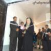 نمایشگاه هنرهای تجسمی در گچساران افتتاح شد+تصاویر