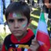 حضور کودکان گچسارانی در راهپیمایی 22 بهمن 92 به روایت تصویر